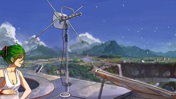 anime landscape hatsune miku - photo #28