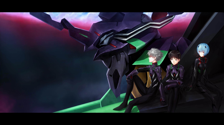 Neon Genesis Evangelion Shinji And Kaworu