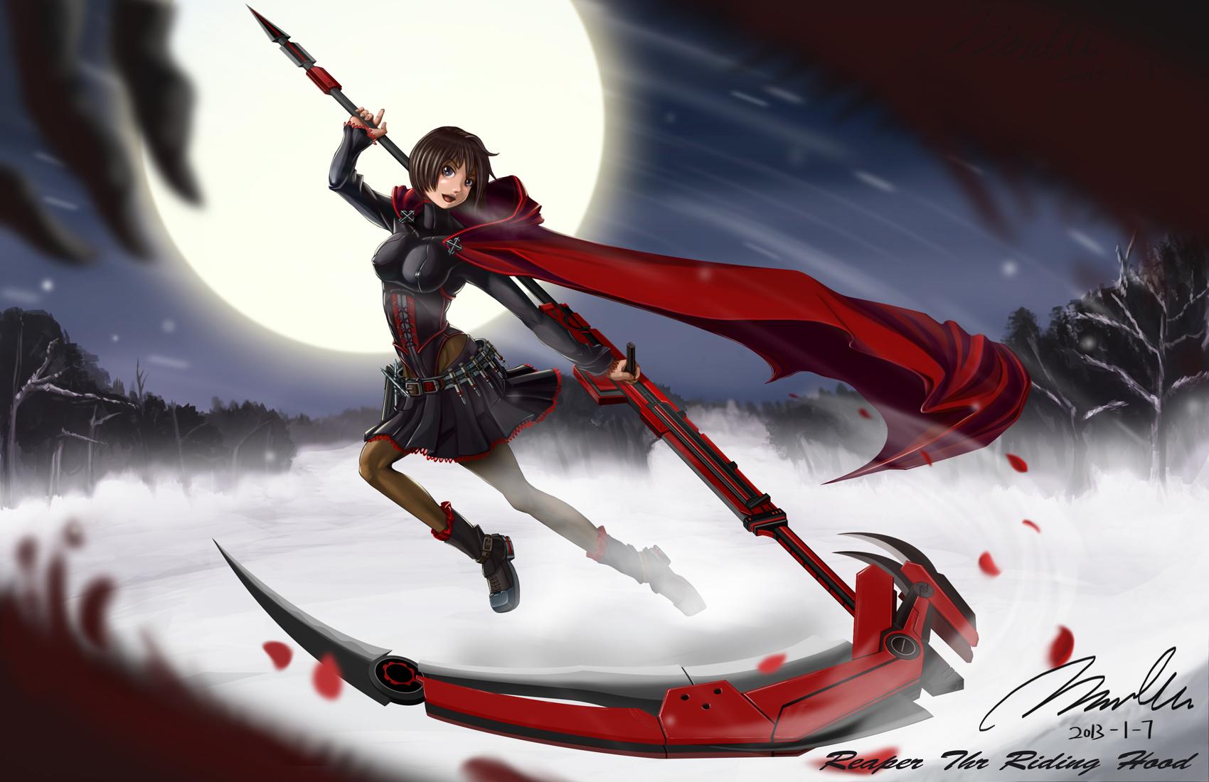 rwby anime scythe wallpaper - photo #4