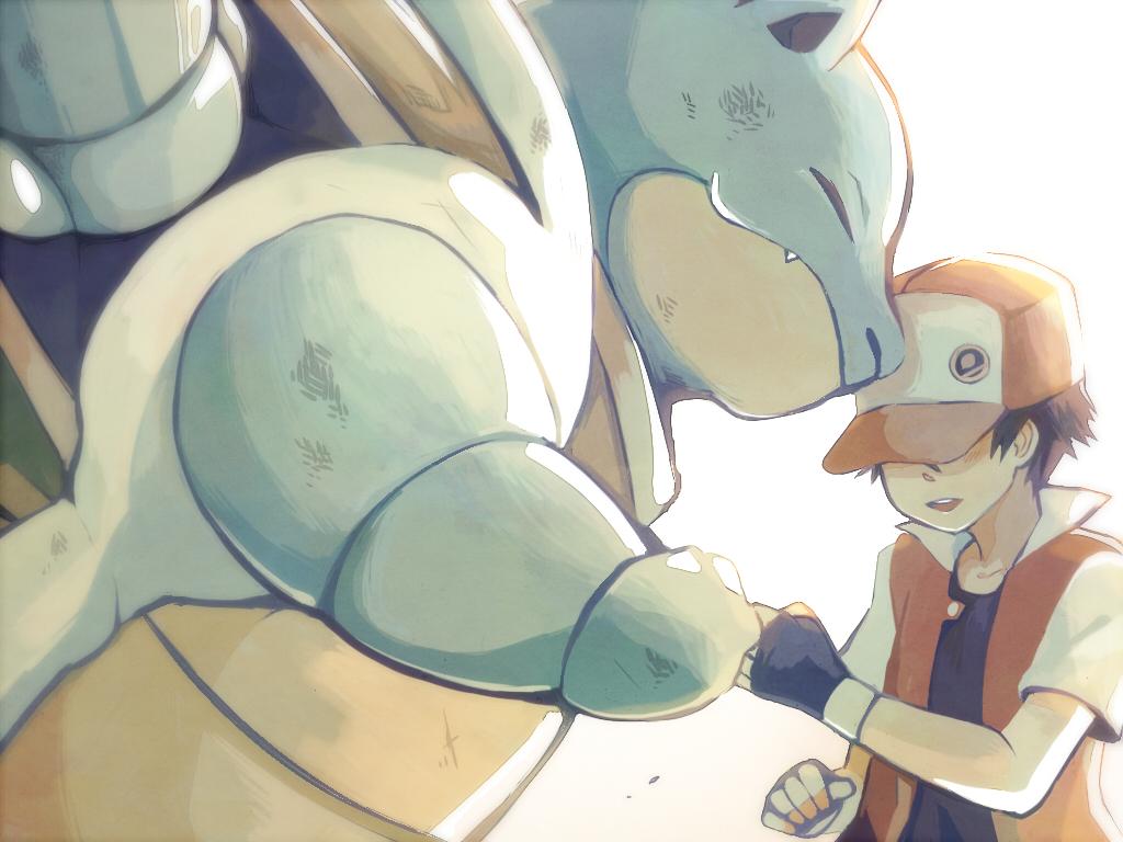 Red Blastoise entrenamiento pokemon ...