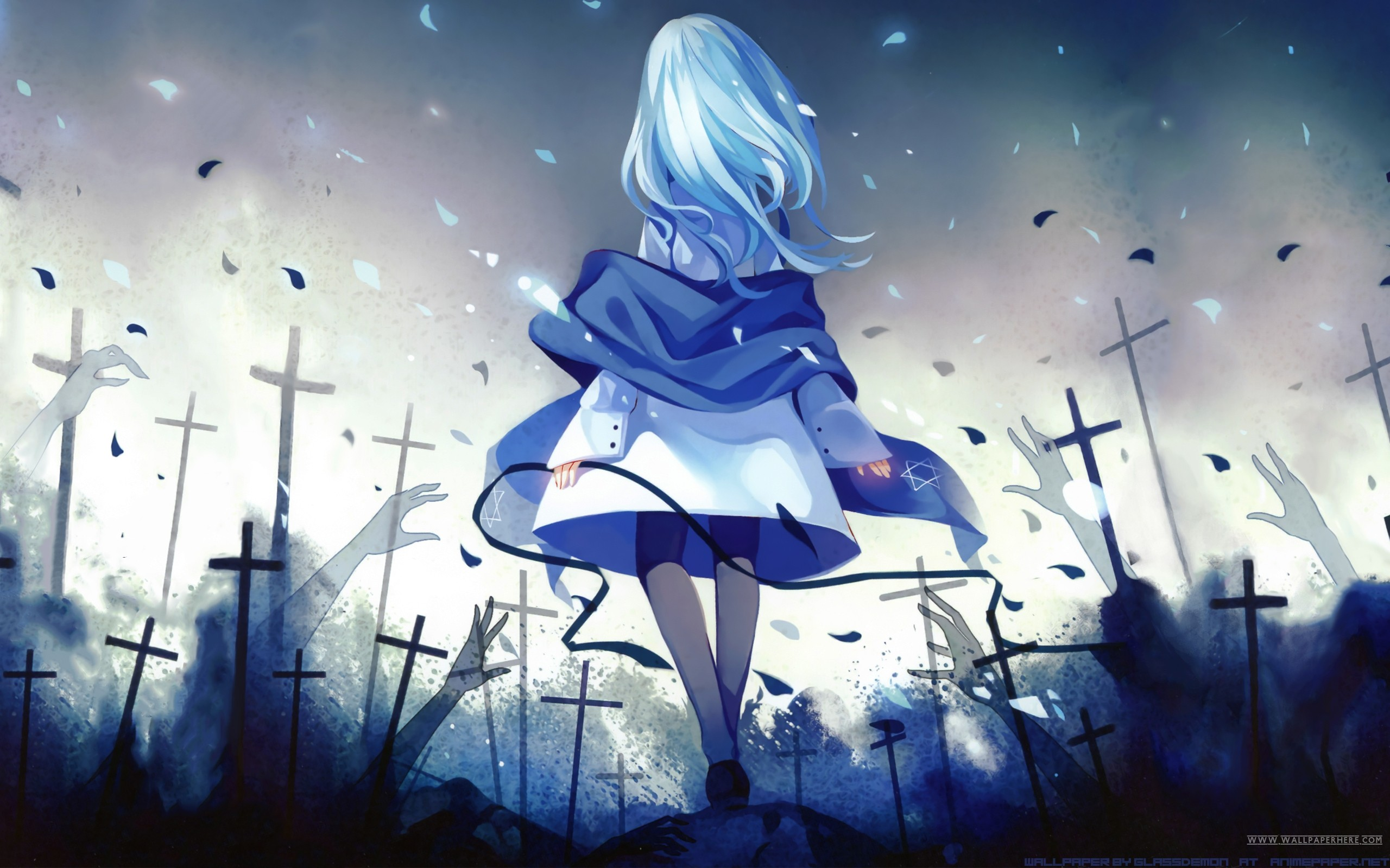 Transfered players how are you liking siel aion forums - Anime blue girl wallpaper ...