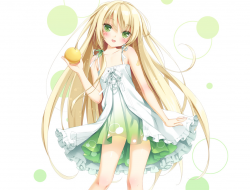 h , dress , green_eyes , …