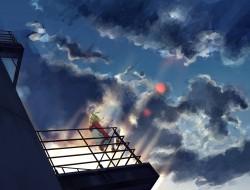 kagamine_rin , no. , sky …