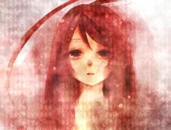 miki_vocaloid , monochrom…