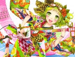 green_eyes , green_hair ,…