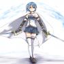 blue_hair , cape , mahou_…