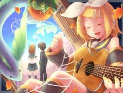 frog , guitar , instrumen…