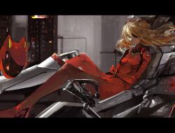 suit , eyepatch , neon_ge…