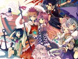 multiple characters, ryuu…