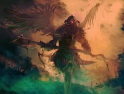weapon, fantasy, Wings, E…