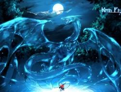 clouds, dragon, elf, moon…