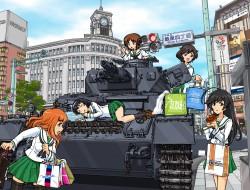 akiyama yukari, girls und…