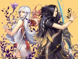 girls, blade & soul, yuki…