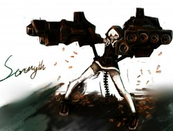 black rock shooter, for t…