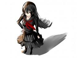 black hair, kanoe yuuko, …