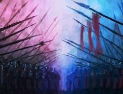 weapon, Female, spear, Pi…