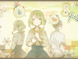 flowers, gumi, heart, miz…