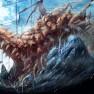 dragon, moon, pixiv fanta…