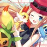 blue eyes, chespin, fenne…