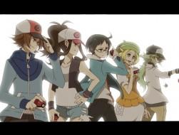 bel, cheren, n, pokemon, …