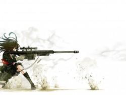 Sniper war girl