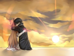 hug, kirigaya kazuto, sun…