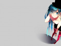 Vocaloid, dress, stocking…