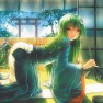 aoki miharuu, green hair,…