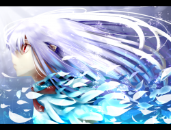 blue, long hair, original…