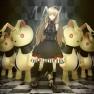 blonde hair, bunny, doll,…