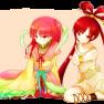 girls, long hair, magi th…
