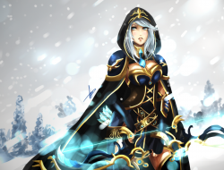ashe, league of legends