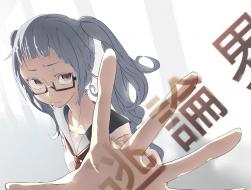 glasses, hatsune miku, ma…