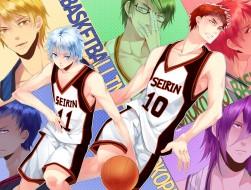 aqua hair, basketball, bl…