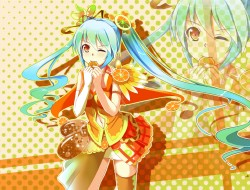 blue hair, hatsune miku, …