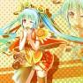 blue hair, hatsune miku, …