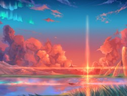 animal, boat, clouds, hos…