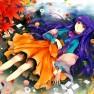 dress, flowers, gejang, l…