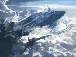 aya namihei, clouds, drag…