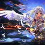 angel beats, clouds, feat…