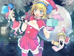 alice_margatroid, christm…