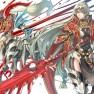 armor, bicolored_eyes, lo…