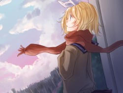 blonde_hair, blue_eyes, c…