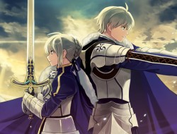 weapon, sword, sky, blue,…