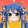 lucky_star, multiple_char…