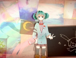 hatsune_miku, hina, vocaloid