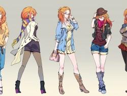 glasses, orange_hair, ori…
