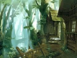 aquamary, forest, origina…