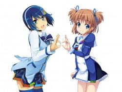 girls, , blue_eyes, blue_…