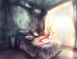 bed, long_hair, mamuru, o…